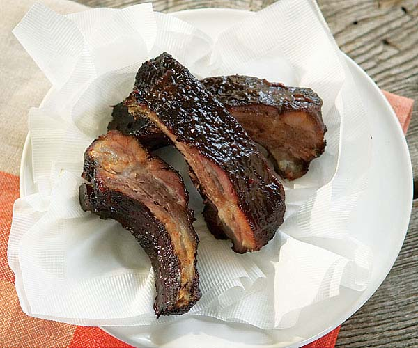 Hoisin Barbecued Ribs (Gas Grill Version)
