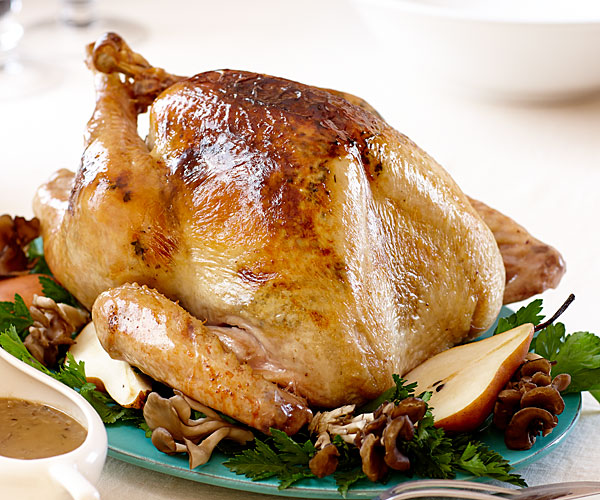Pacific Northwestern Roast Turkey and Gravy