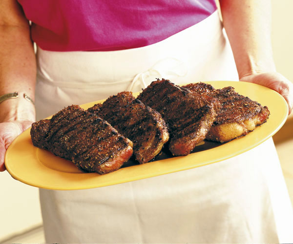 Spice-Rubbed Grilled Steak