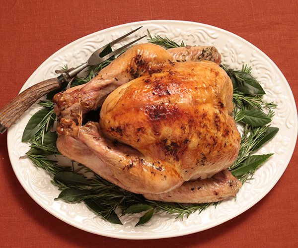 Butter-and-Herb-Roasted Turkey in a Bag