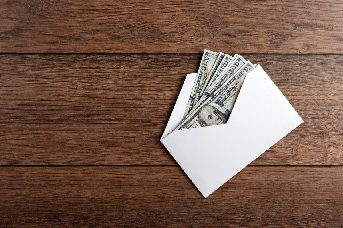 What is the envelope budgeting method and how does it work?