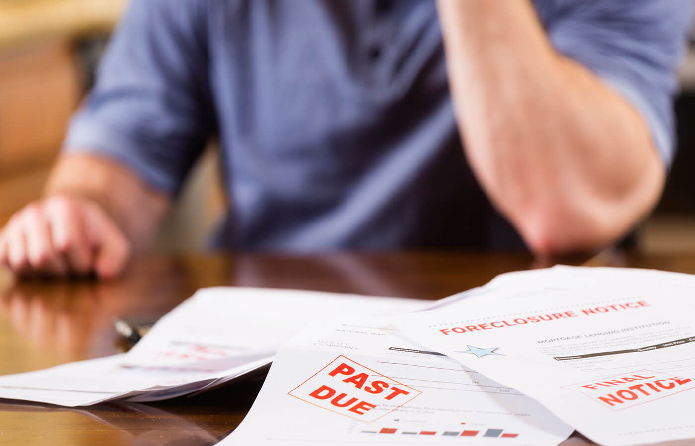 What is the seven-year mark in debt repayment?